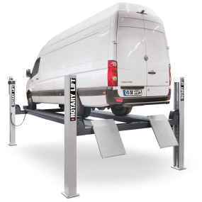 4 post lift sm80 back vw crafter