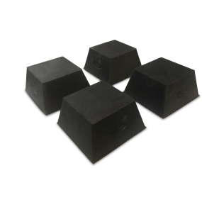 Rubber pad Truncated pyramid