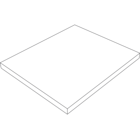 Rubber pad 120 x 120 mm